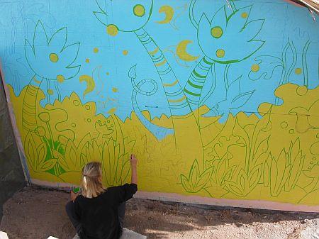 Malerei dschungel for Dschungel malen